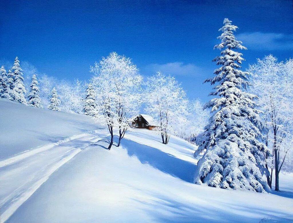 зимнее утро пушкин анимация всего