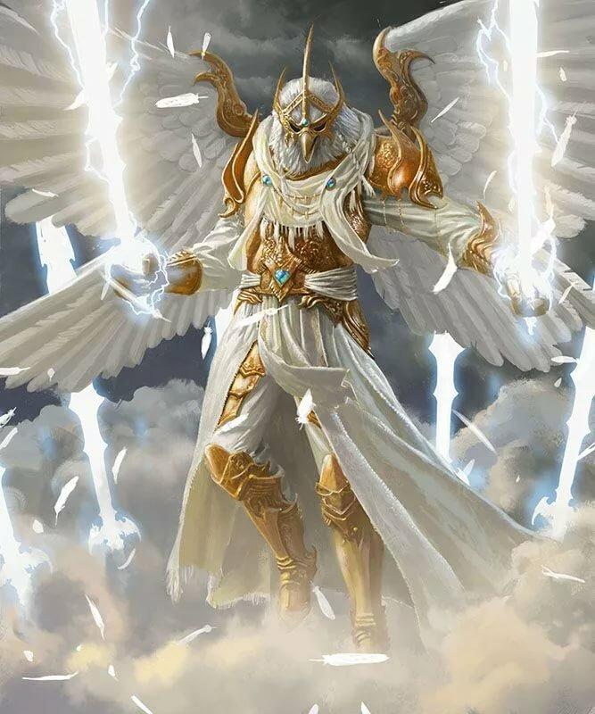 Небесный воин картинки
