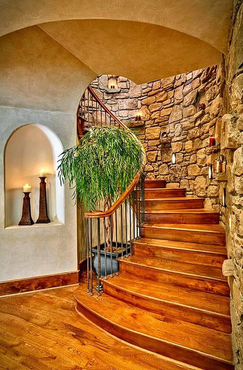помню, когда лестница в доме дерево с камнем фото автомобиль имеет