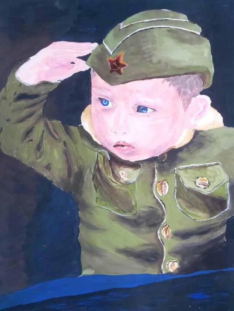Картинки о войне глазами