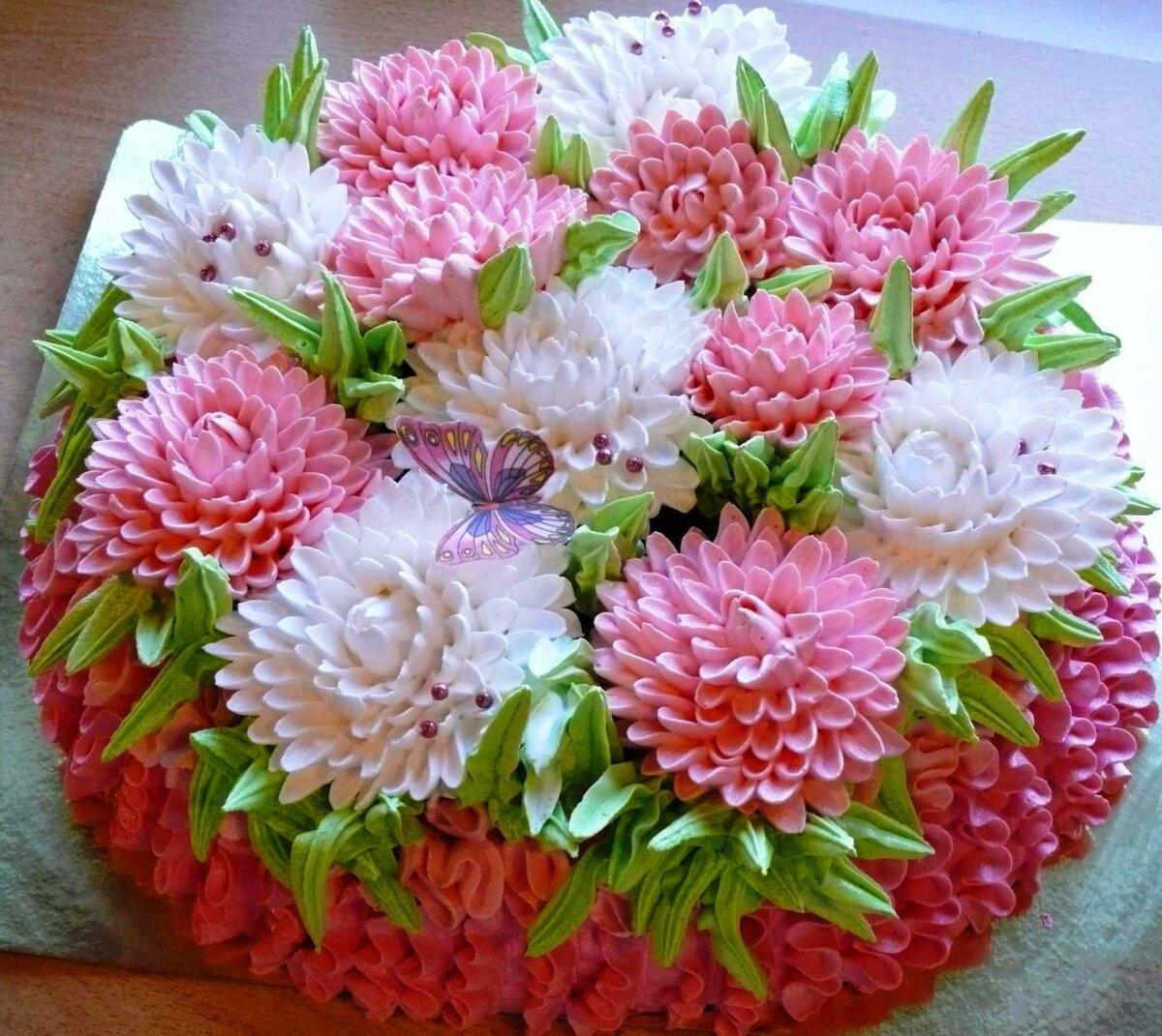 отправится хризантемы из белкового крема пошагово фото искусство кино