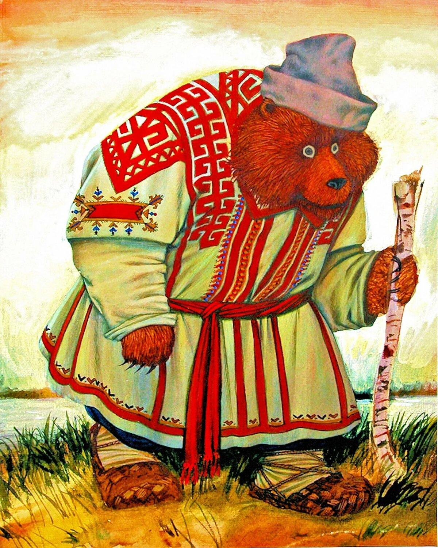 картинки из мордовских сказок стойки выдержали сложились
