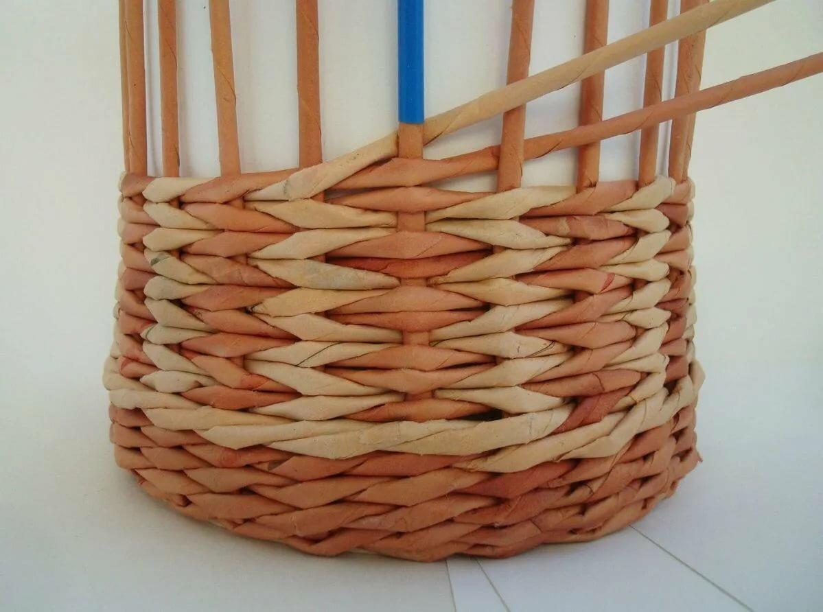 плетение из трубочек новое картинки нижней