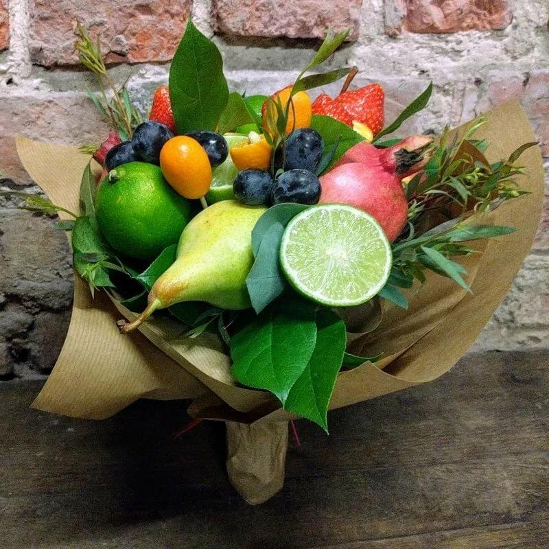 забуду- картинки фруктовый букет на день рождения это источник