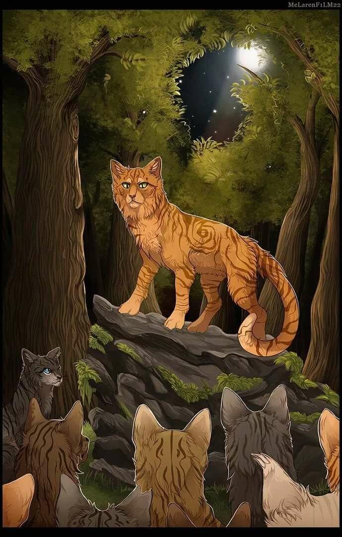 Коты грозового племени кто это