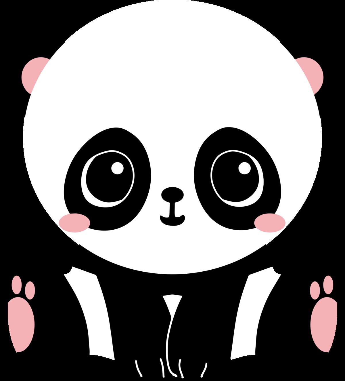 Картинки рисованные панды