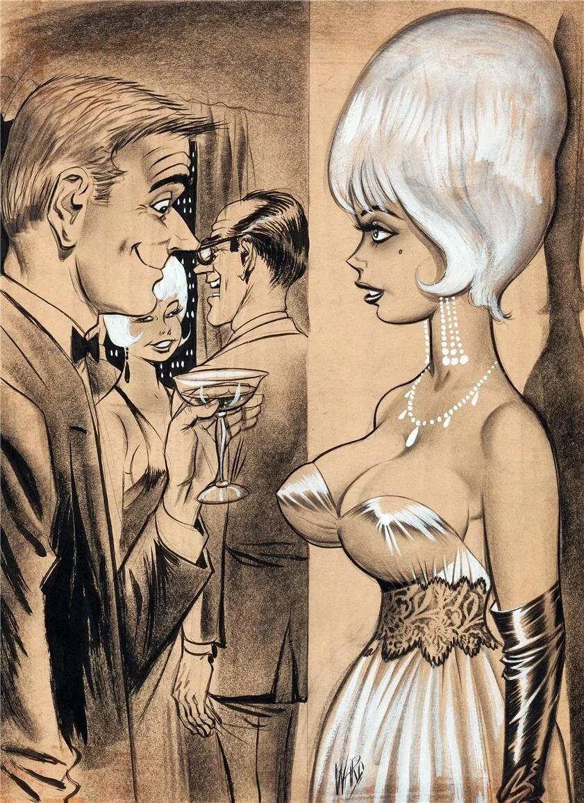 Vintage adult bondage graphic novels
