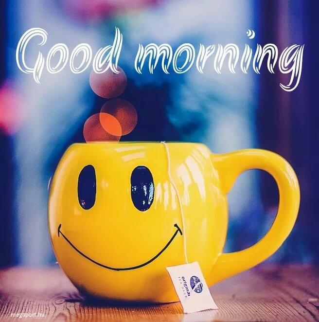 Картинки с добрым утром на англ