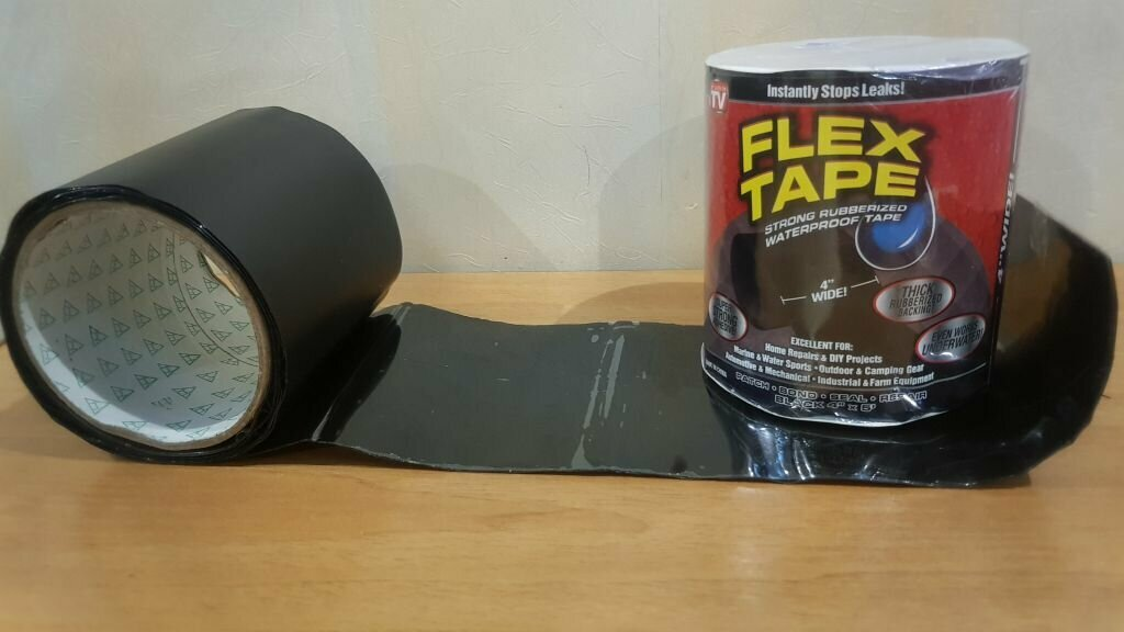 Flex Tape - супер-стойкая водонепроницаемая лента
