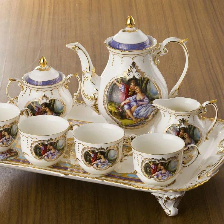 Фото с чайной посудой