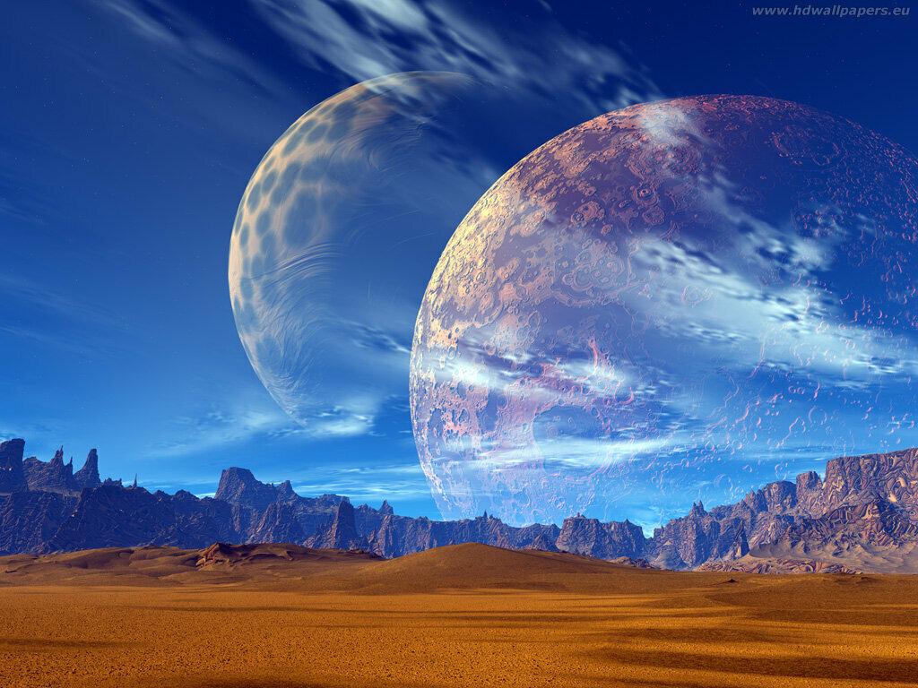 Картинки о природе других планетах