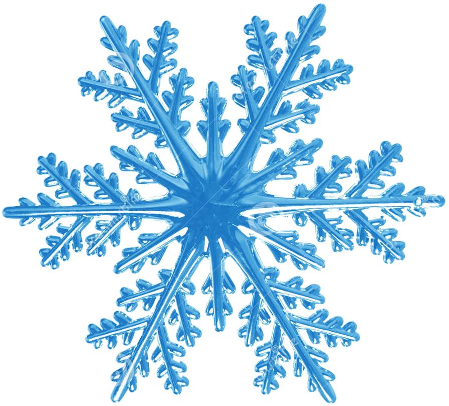 Снежинки на картинку, для