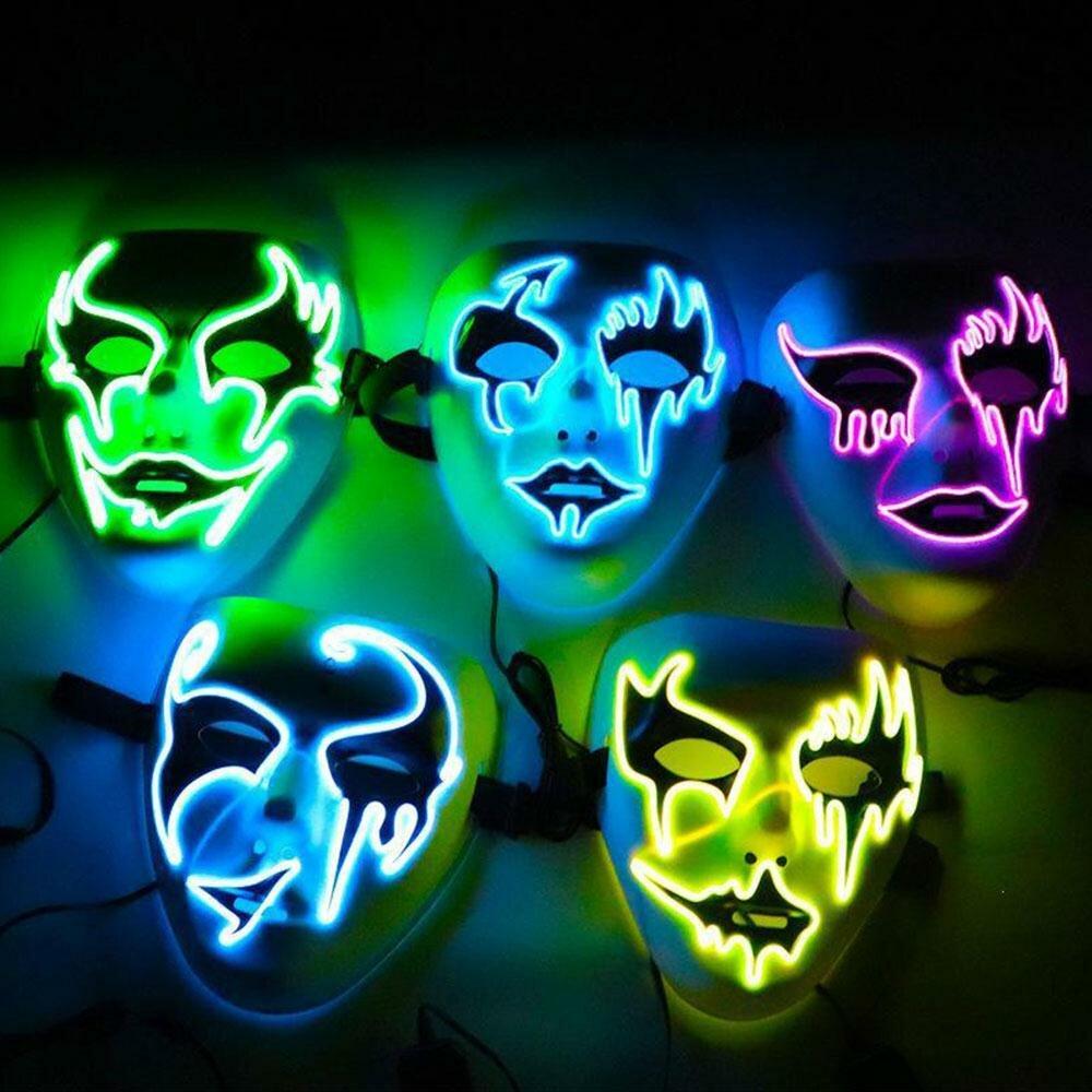 помогал картинки со светящимися масками остывал
