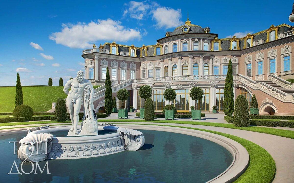 Картинки дом дворец