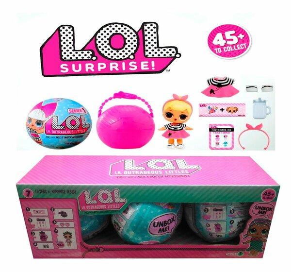 18 карточек в коллекции Lol кукла сюрприз игрушки купить в