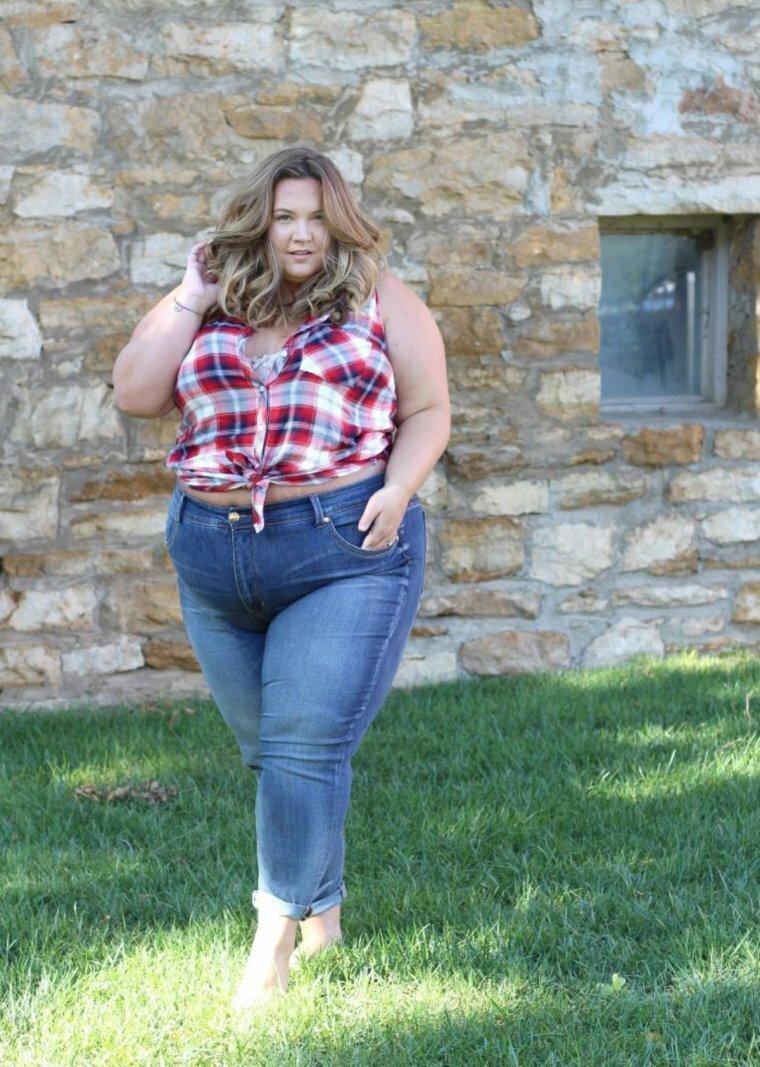 толстые в одежде фото разных