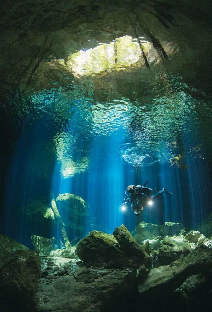 Пленочная подводная фотография