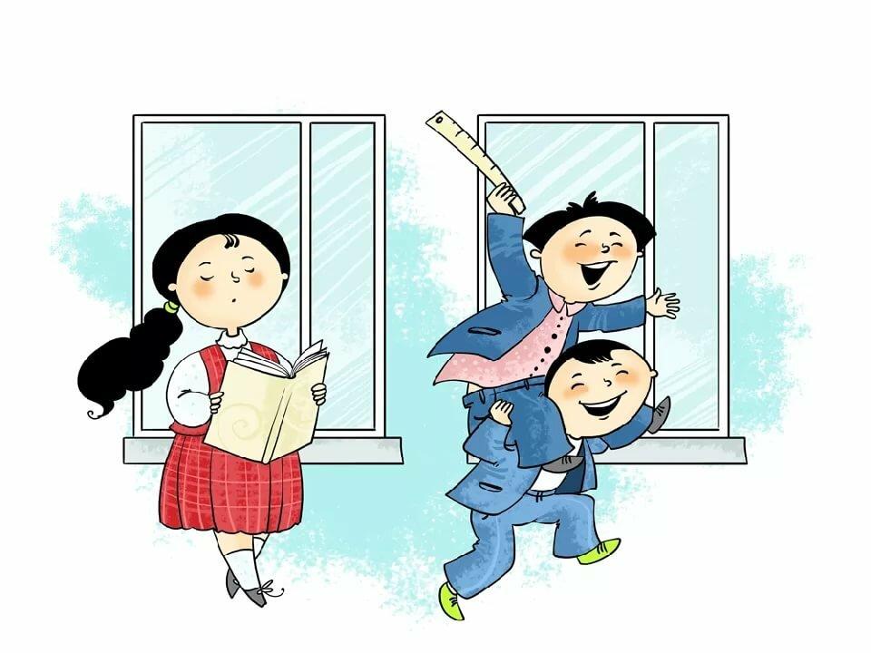 Ураза, смешная картинка школьник бежит в школу
