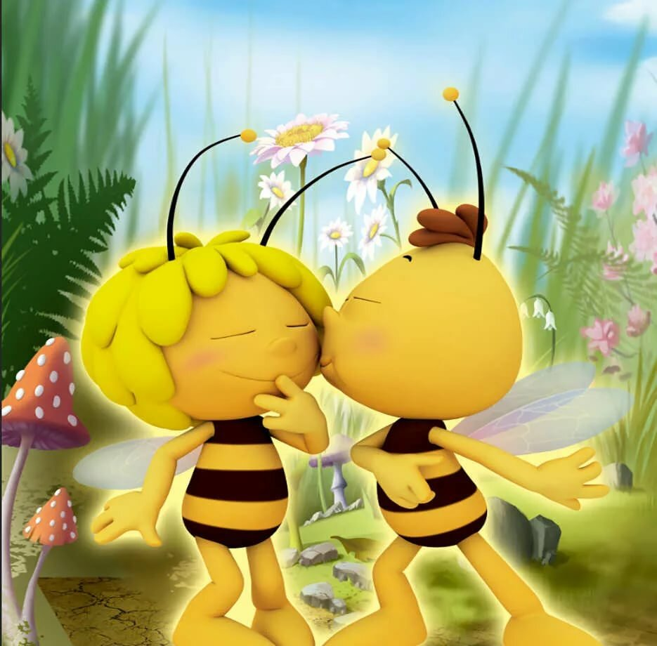 Картинки пчелка майя смешные