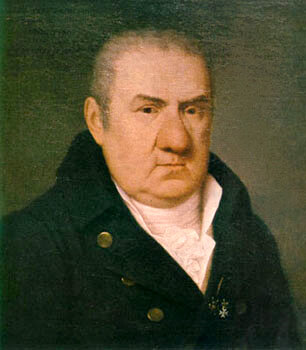 Джузеппе Поли, портрет Джакомо Кваренги