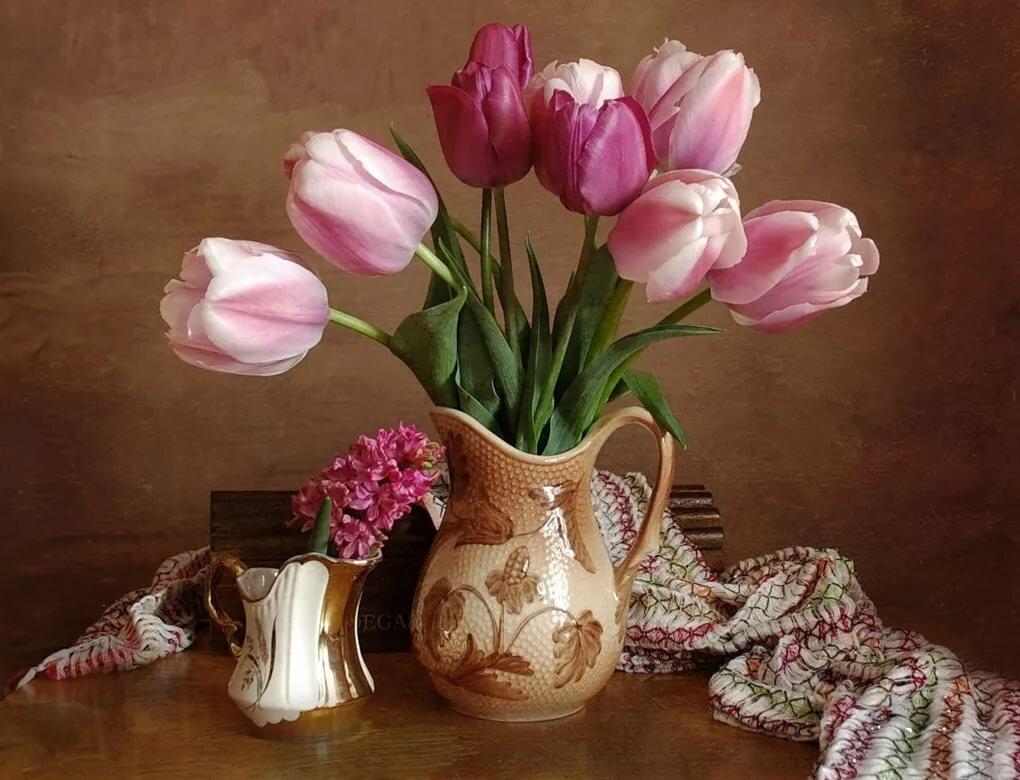 Мост гифка, картинки красивые тюльпаны в вазе