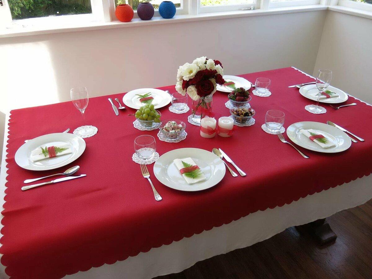 Картинки сервировки стола к празднику