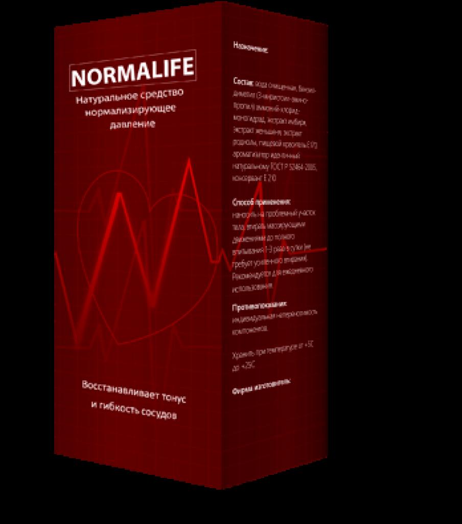 Normalife от гипертонии в Рязани
