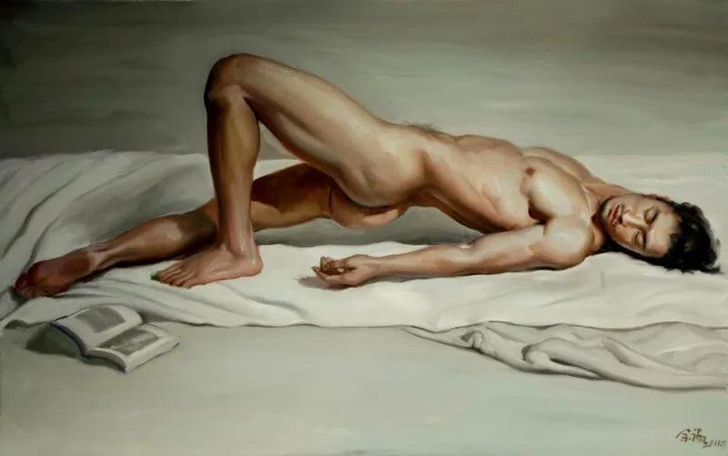 Художницы рисуют голого парня с натуры, порно фото хуй армянина
