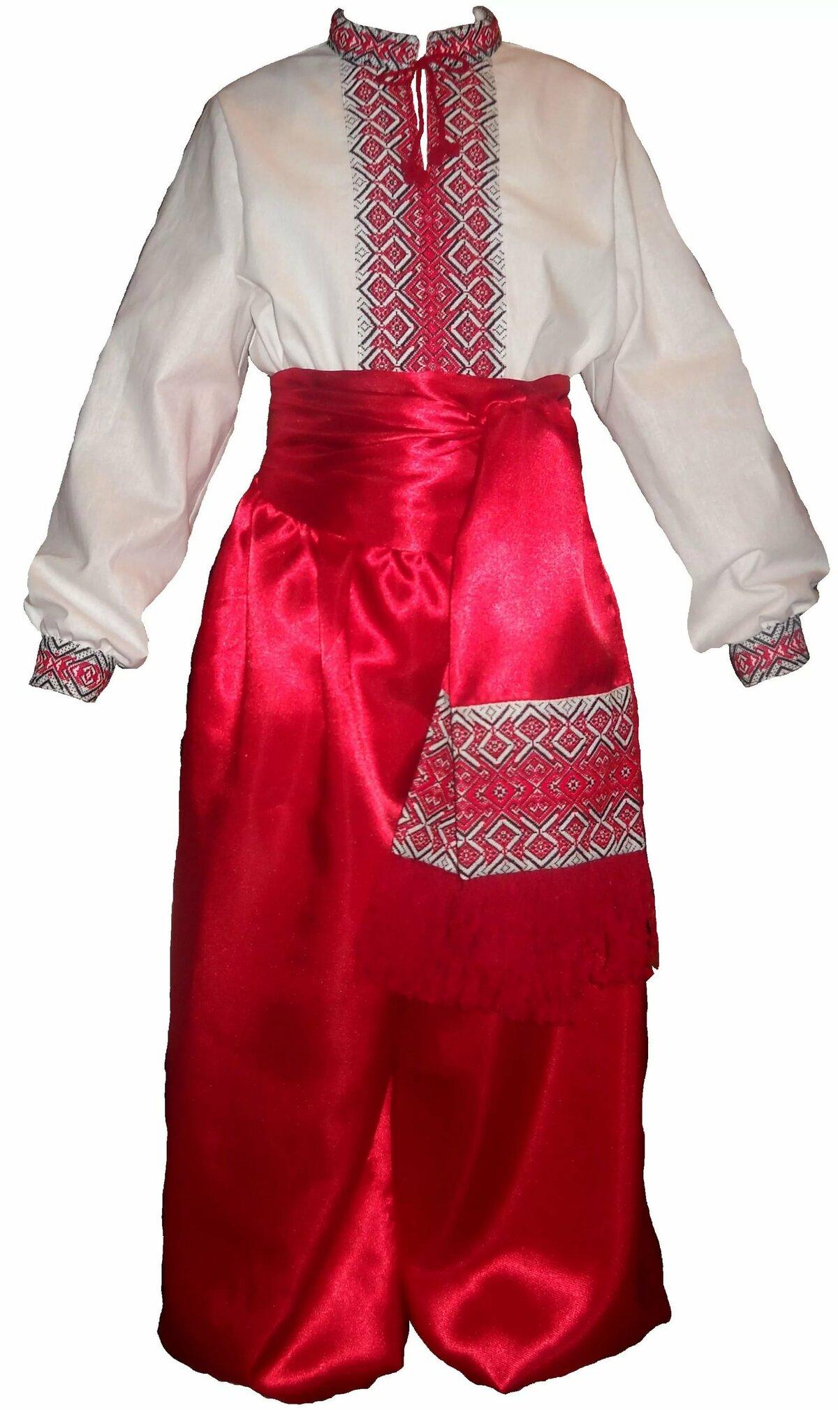 костюмы украинского народа картинки пирожное корочкой