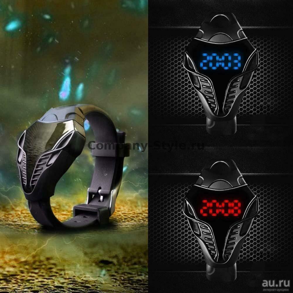 LED часы Iron Cobra в Новокузнецке