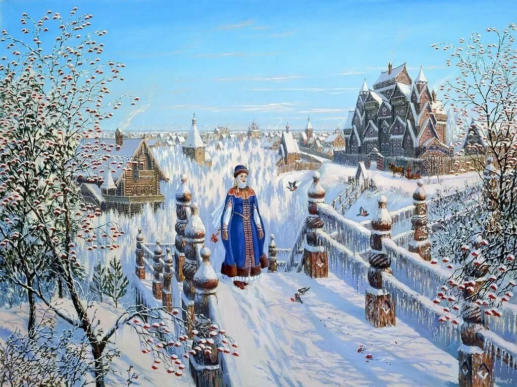Зимние картинки руси