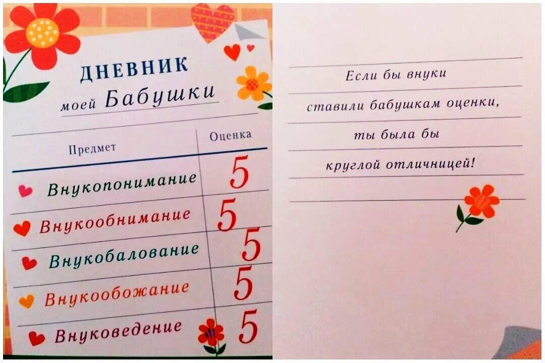 Поздравительные открытки бабушке от внука