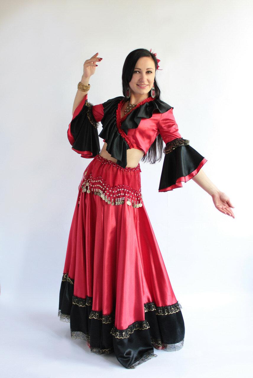 цыганские костюмы фото варианты оформления дизайна