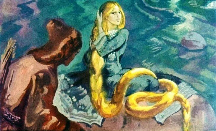 Картинки по сказке бажова золотой волос