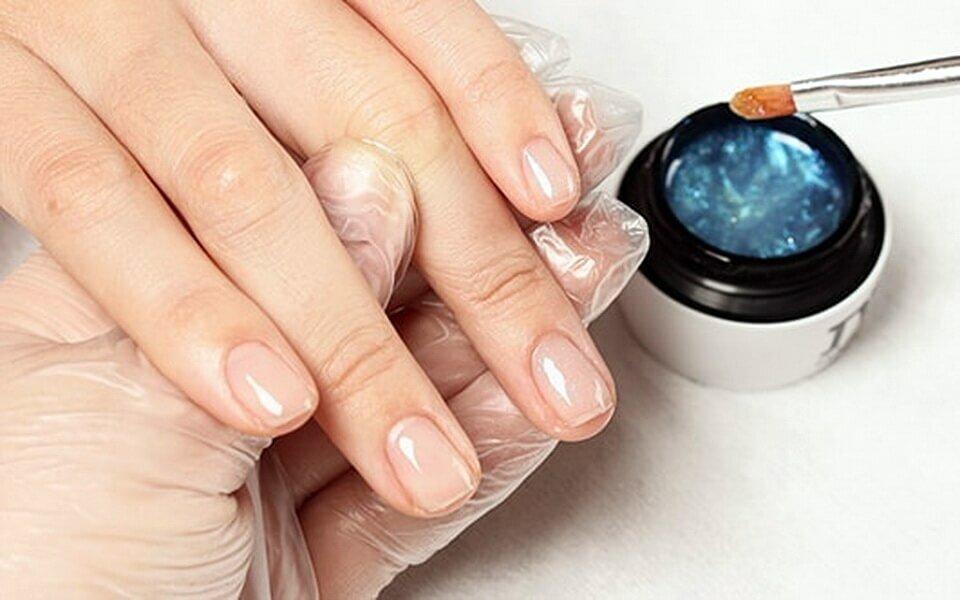 укрепление ногтей биогелем фото мастер класс летом