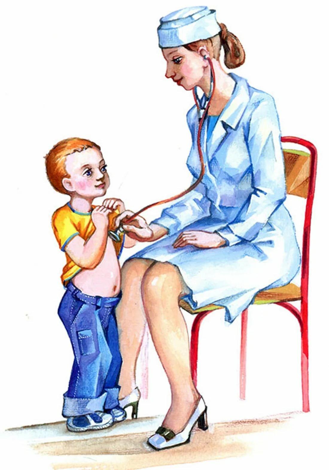 Профессии врача в картинках для детей
