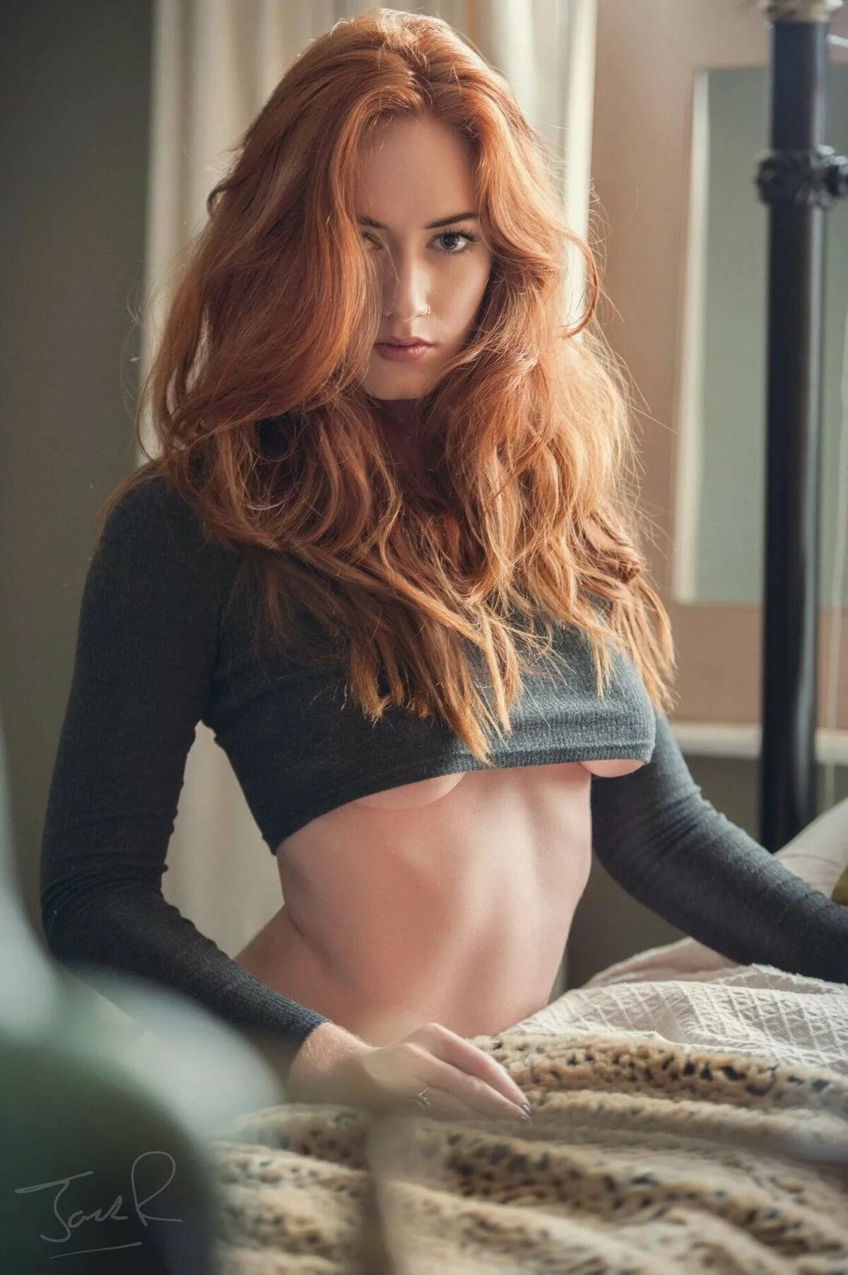 Redheads being sexy