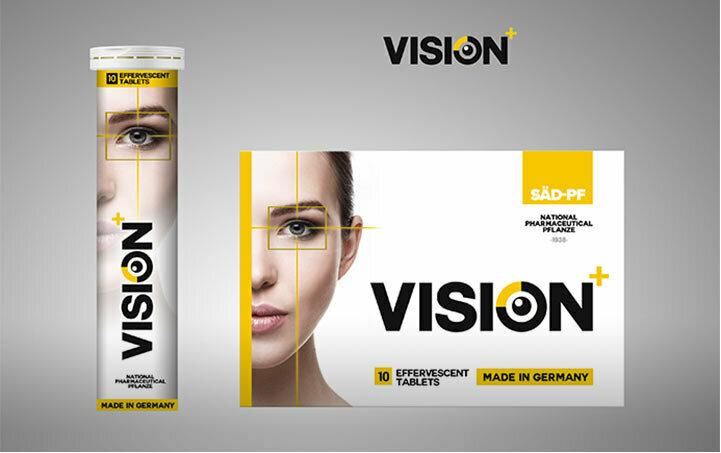 Шипучие таблетки для зрения Vision в Кемерово