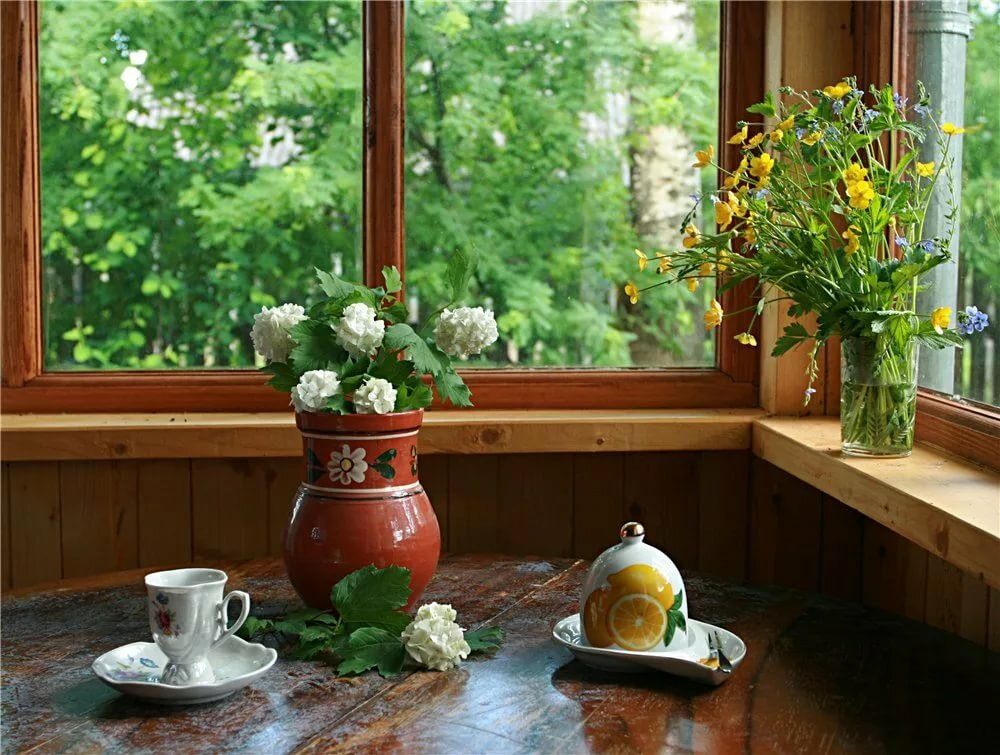 фото кофе весной у окна счет того, что