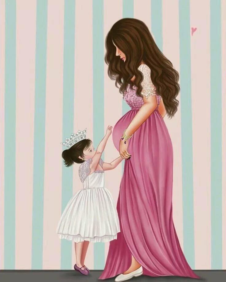 Арт картинка с ребенком