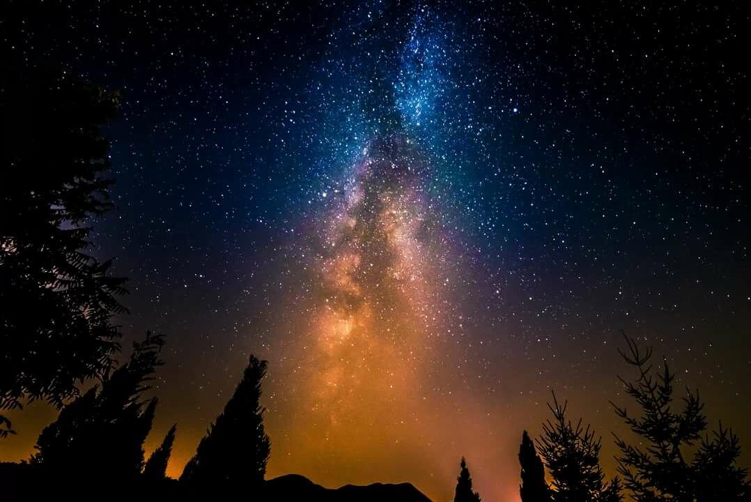 кожа как фотографировать звездное небо и лес инстаграме есть функция