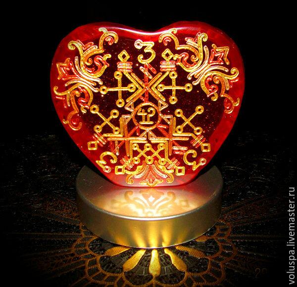 магическая картинка удачи в любви