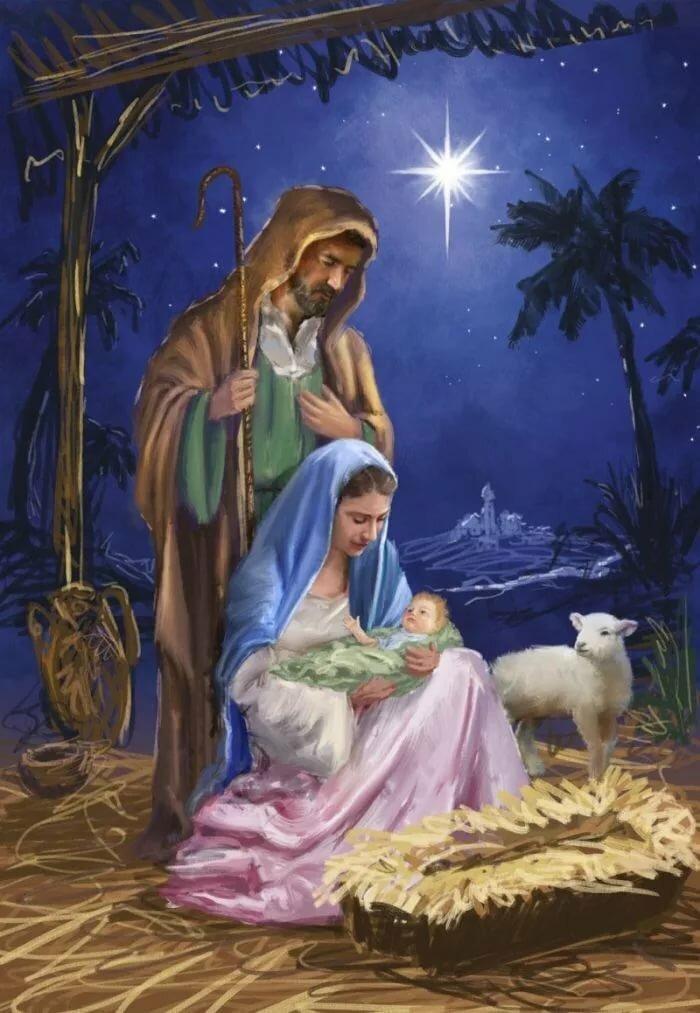 Библейские сюжеты на открытках, днем рождения