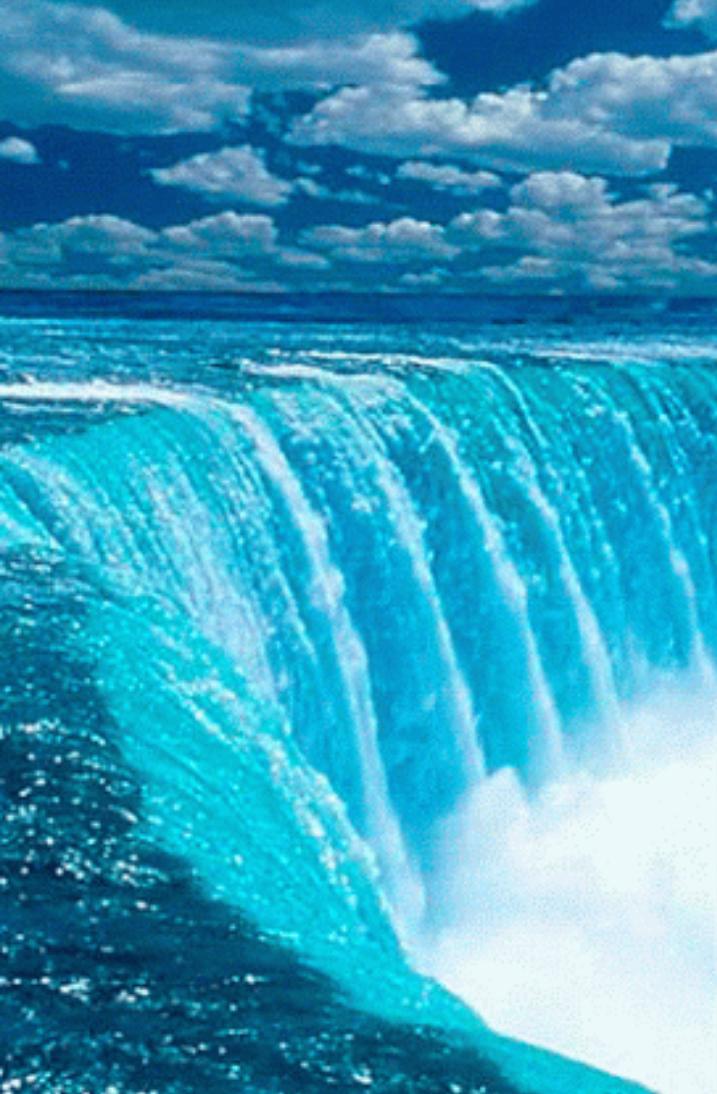 будем картинки на телефон водопады движущиеся море под рукой другого