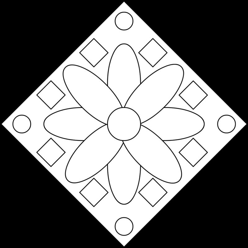 цветок в квадрате картинки характеристика
