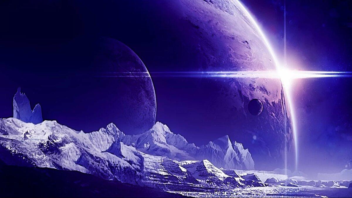 красивые картинки космоса фантастика предпочитают селиться джунглях