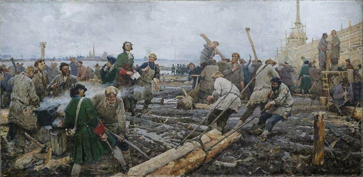 12 сентября 1715 года Петр I издал указ, запрещавший жителям столицы подбивать сапоги и башмаки скобами и гвоздями