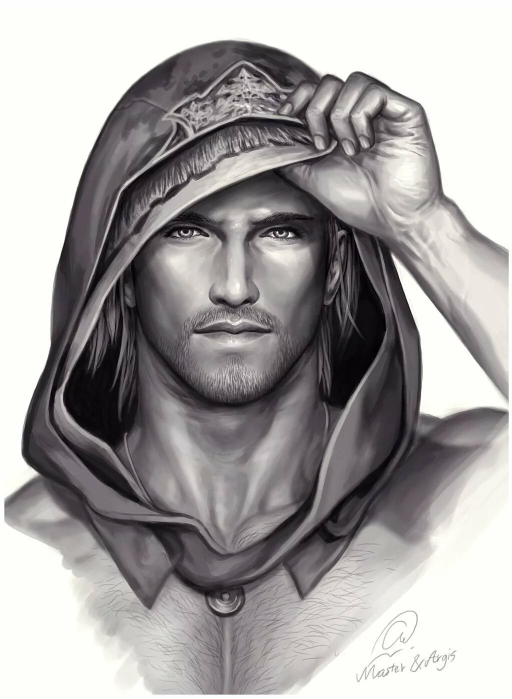 Рисунок на аватарку для мужчин