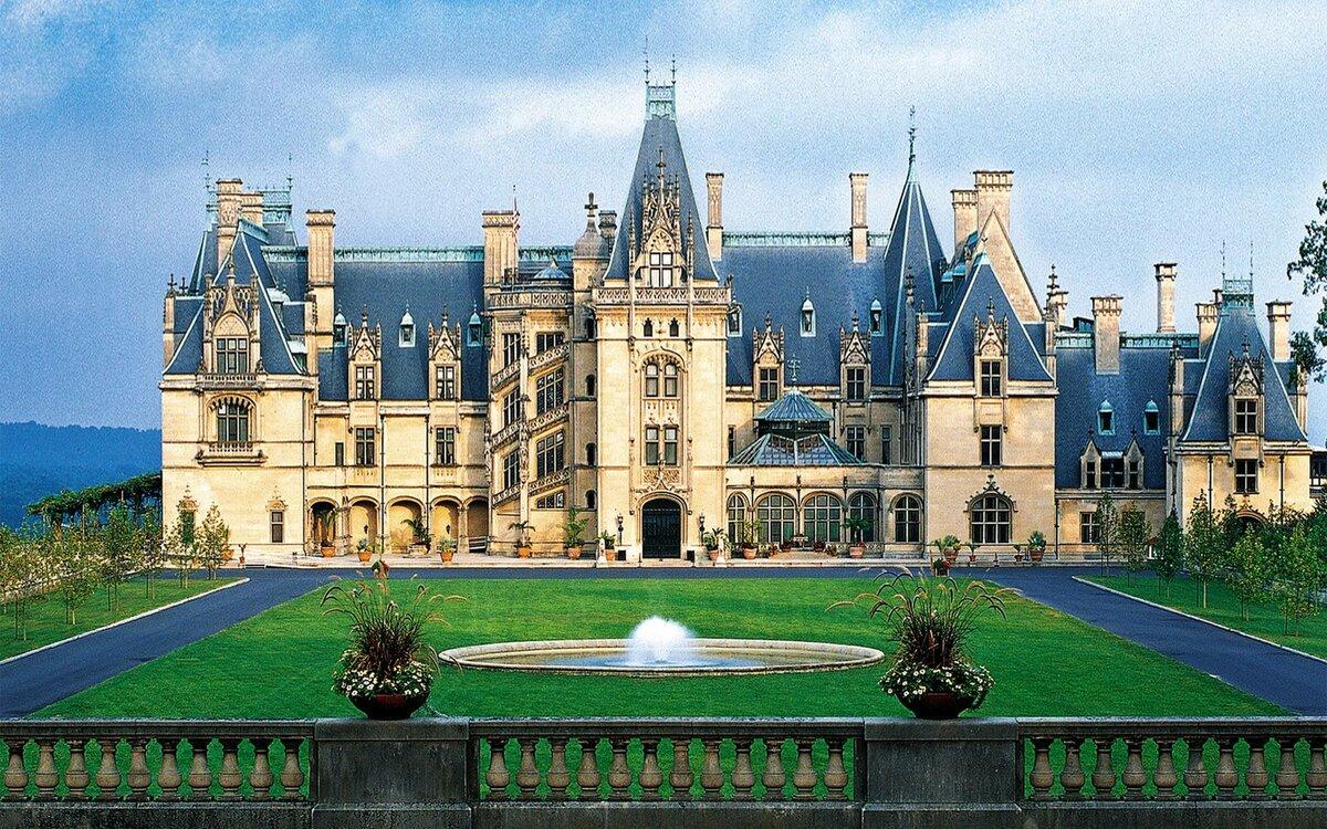 постройке современный замок дворец фото огромное отзыв