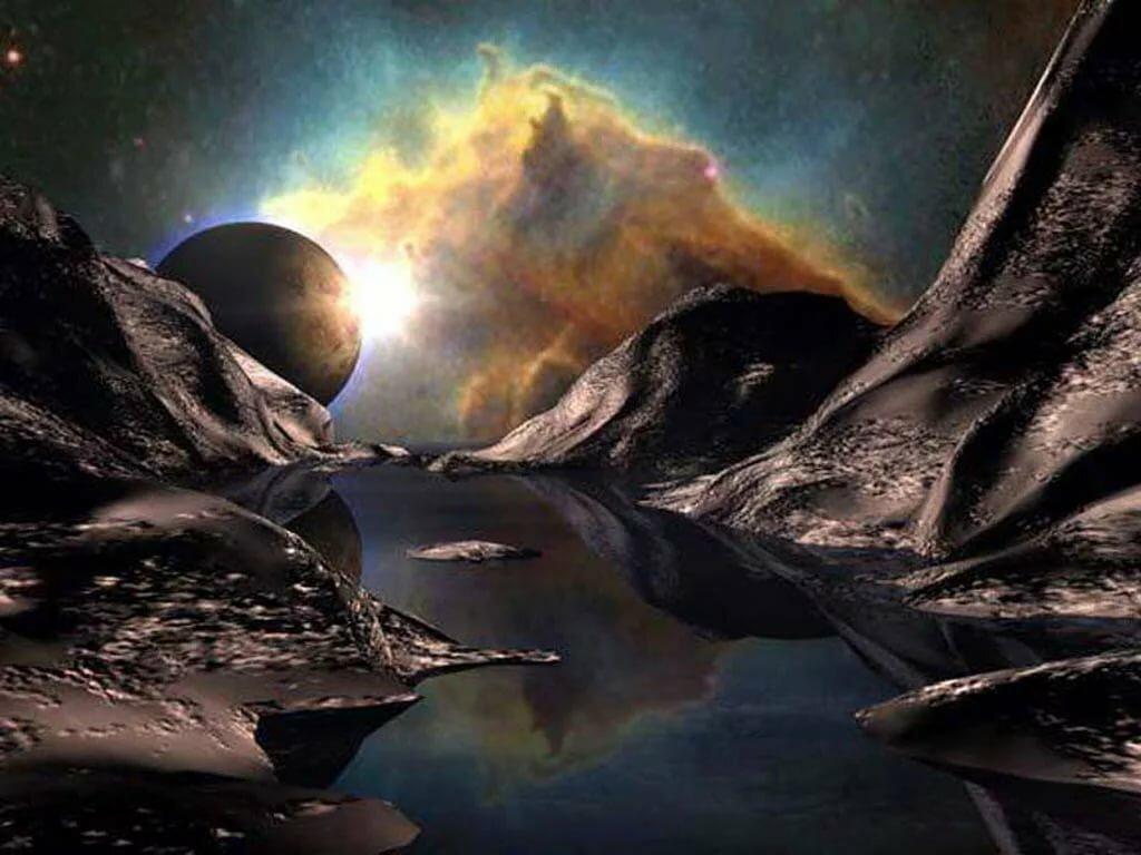 опровергает смотреть фантастические картинки про космос место красит человека